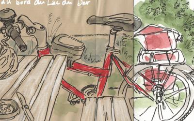 Le tour de France à vélo de Stéphanie