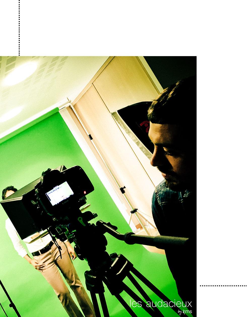 CV vidéo - photo kms communication #lesaudacieux