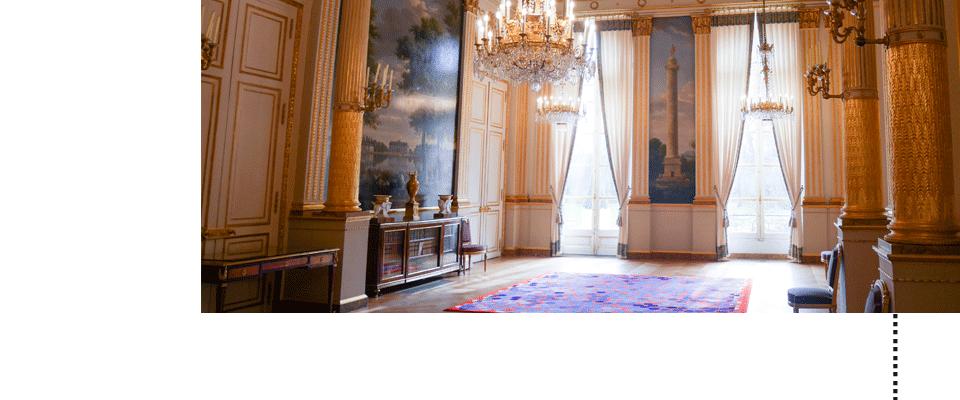 le palais de l'Elysée ©DR #lesaudacieux