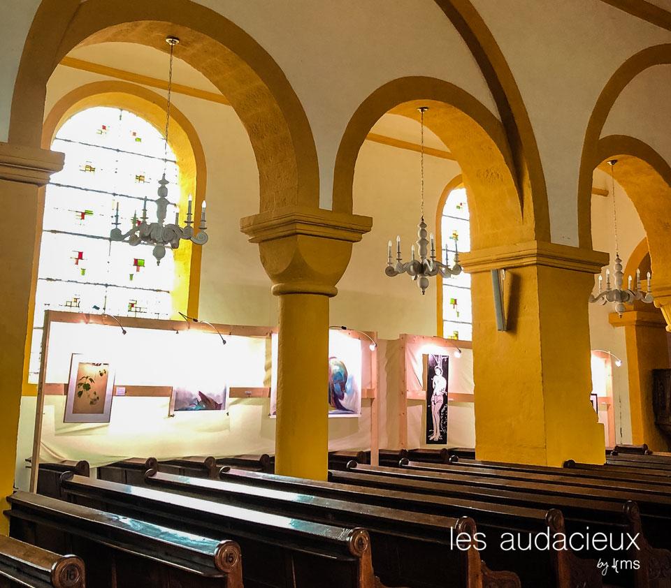 Eglise romane de Champ-le-Duc ©kms communication #lesaudacieux