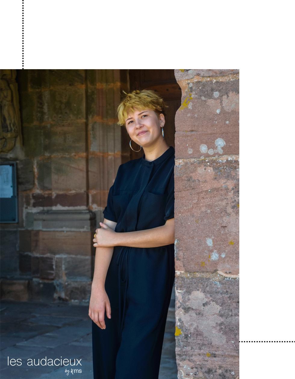 Jeanne Mentrel - photo kms communication #lesaudacieux