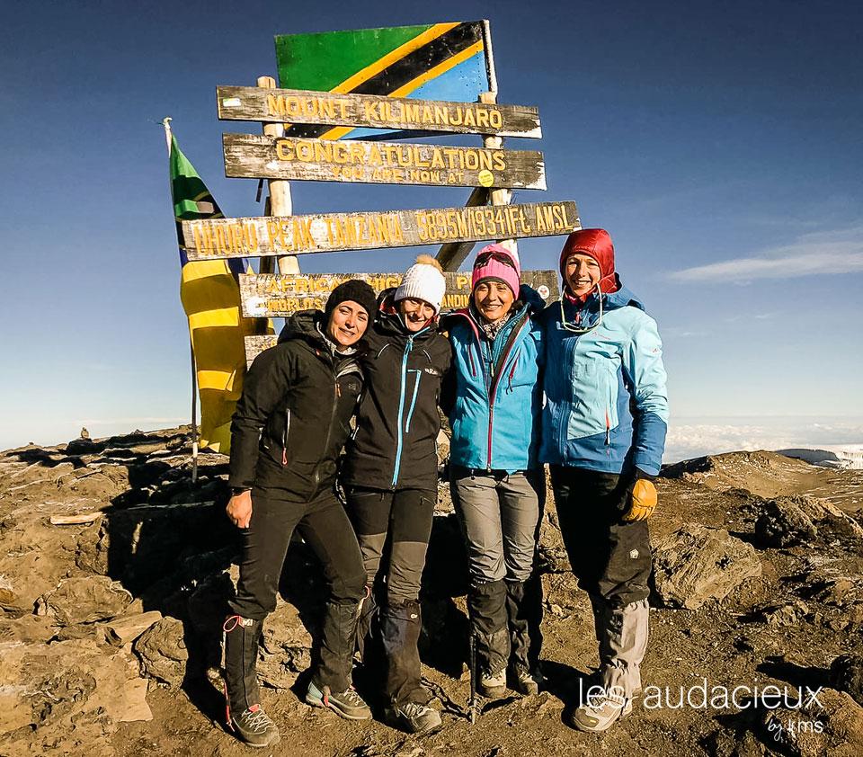 Ascension du Kilimandjaro photo ©MagaliTenette pour les Audacieux