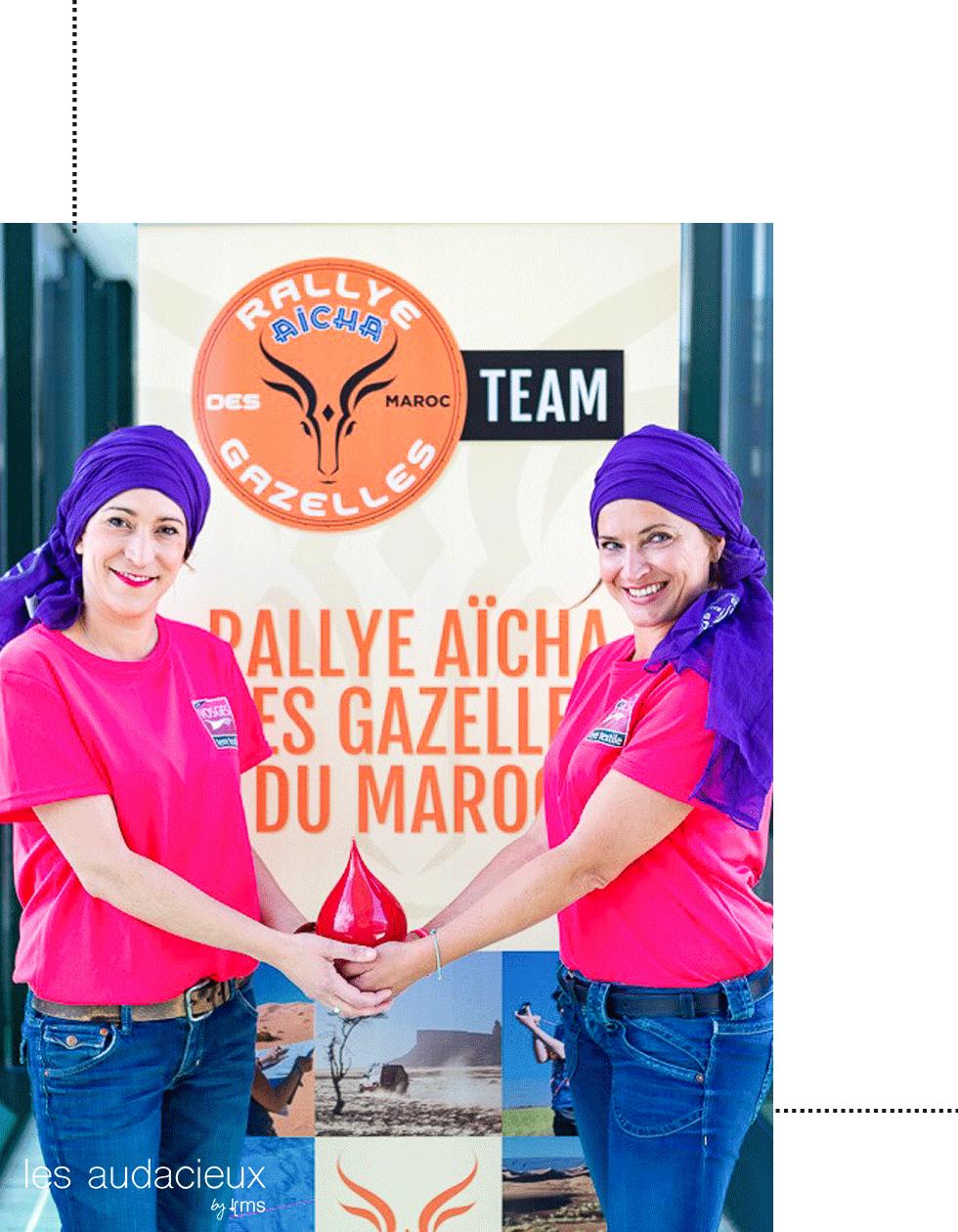 Equipage Les Elles gaz' pour Rallye aïcha des gazelles 2019 photo ©Elles gaz pour les Audacieux