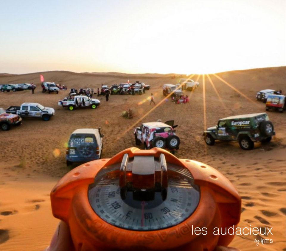 Rallye Aïcha des Gazelles - photo Rallye Aïcha des Gazelles pour les Audacieux
