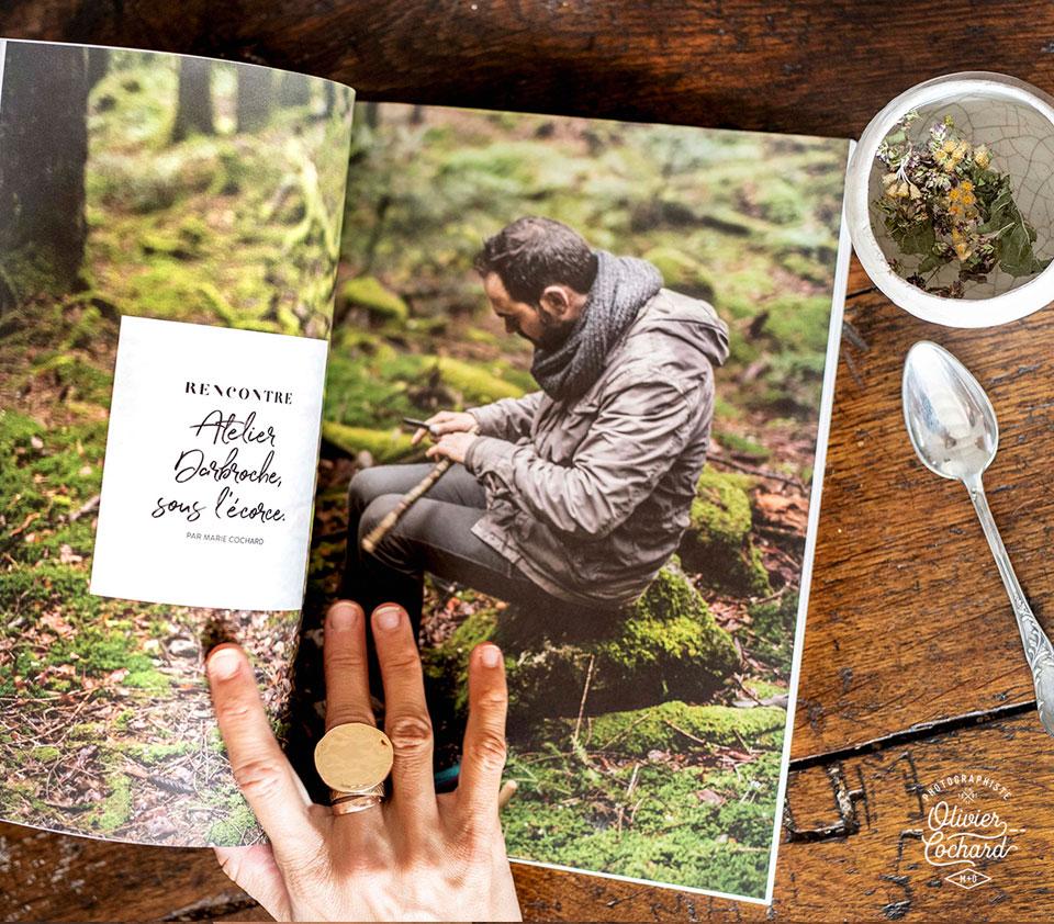 Druideesse spécial Vosges - Photo Olivier Cochard pour les Audacieux
